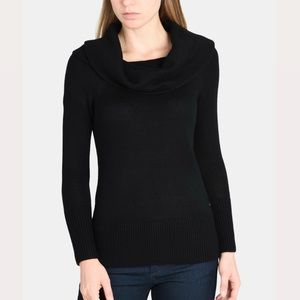 ARMANI EXCHANGE Knit Cowl Neck Long Sleeve Sweater